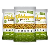 Chickapea Organic Chickpea and Red Lentil Pasta, Penne (6 Pack)