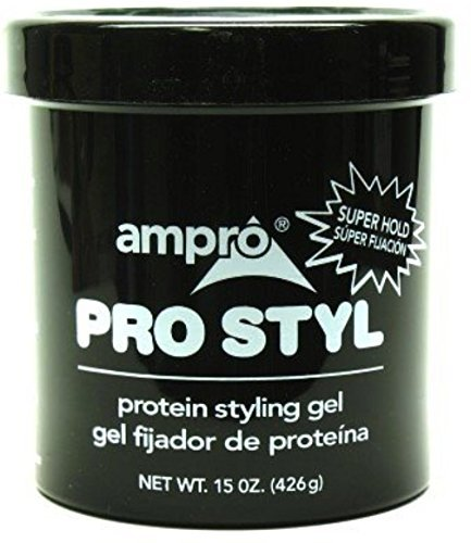 Ampro Protein Styling Gel, Super Hold, 15 oz (Pack of - Protein Ampro Gel