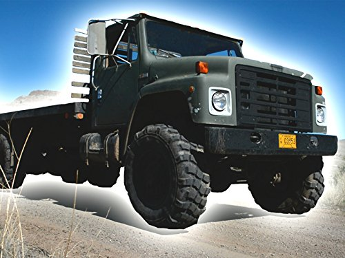Military Semi Truck Tractor Trailer Pulling Bulldozer - Moving Machines for Kids
