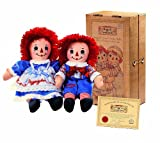 "12"" Raggedy Ann and Andy Collectors Set"