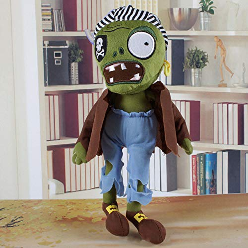 Toys & Hobbies Plants Vs Zombies Plush Toys 30cm Pvz Plants Vs Zombies Hats Pirate Duck Zombies Plush Stuffed Toys Doll Gifts For Kids Children Fine Quality Dolls & Stuffed Toys