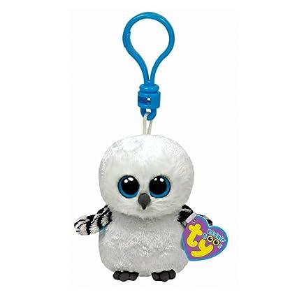 dc2e4f25d93 Amazon.com  Ty Beanie Boos Spells Snow Owl - Clip  Toys   Games