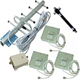 Signalbox High Gain 70dB 900MHz In-building 4G Cell Phone Signal Booster Yagi Antenna Mobile