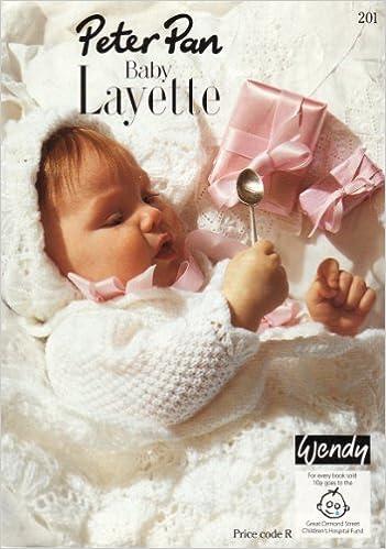 Wendy Peter Pan Babys Layette Knitting Pattern Booklet Shawl Size