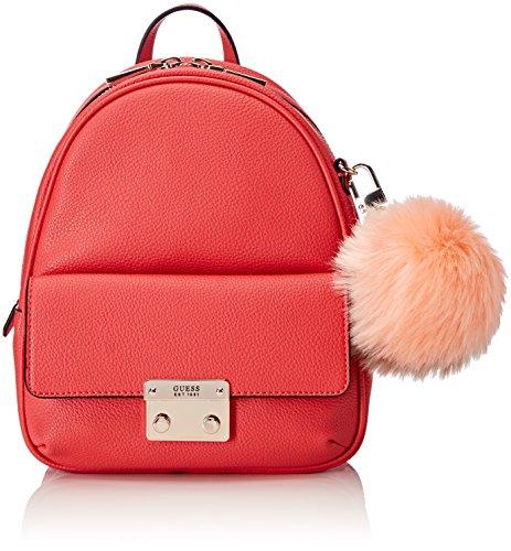 GUESS Hwvp6967310, Bolsos mochila Mujer, Rojo (Poppy), 10x27x23 cm (W x H L) Rojo (Poppy)