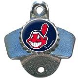 MLB Cleveland Indians Wall Bottle Opener
