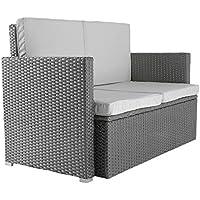 Raward Ratan Double Seater Sofa With Cushion Grey Color