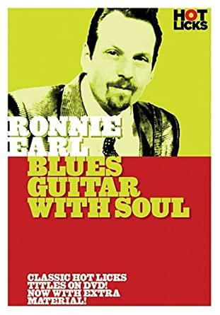 Amazon Ronnie Earl Blues Guitar With Soul By Hot Licks Movies