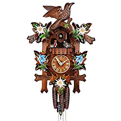 ISDD Adolf Herr Cuckoo Clock - Alpine Flowers