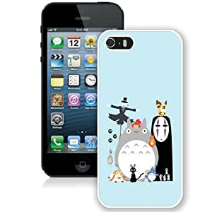 Hot Sale And Popular iPhone 5 5S Case Designed With My Neighbor Totoro 3 White iPhone 5 5S Phone Case