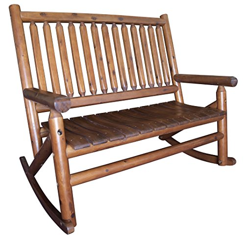 (Leigh Country TX 36005 Amber-Log Double Rocker, Honey)