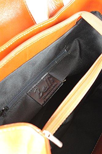 Belli, Borsa a mano donna Marrone marrone 36x25x18 cm (B x H x T)