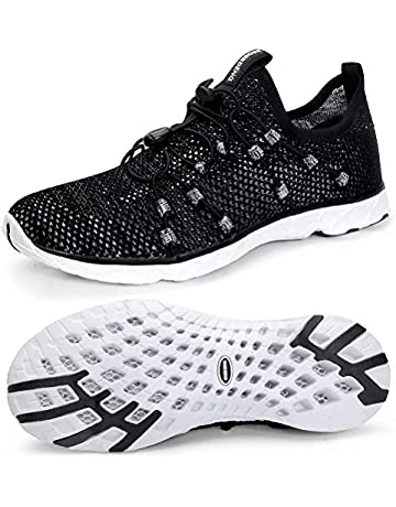 buy popular f1d3a 0ab28 MOERDENG Men s Quick Drying Water Shoes Lightweight Aqua Shoes for Sports  Outdoor Beach Pool Exercise
