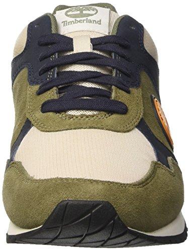 Timberland Retro Oxlichen Uomo Scarpe Runner Green Verde Lichen Oxford Green Frqxrfwd