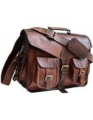 15 Jaald Mens Genuine Leather Messanger Bag for Laptop Bag shoulder bag