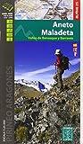 Aneto Maladeta. Valles de Benasque y Barravés. Escala 1:25.000. Mapa Excursionista. Castellano, English, Française. Alpina Editorial. (Mapa Y Guia Excursionista)