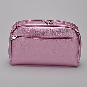 6b656b507a25 Amazon.com: MJ house-Ladies cosmetic bag handbag leather waterproof ...