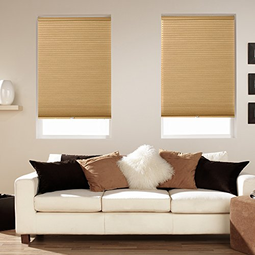 Mirage Cordless Blackout Shade Amber (23x48)