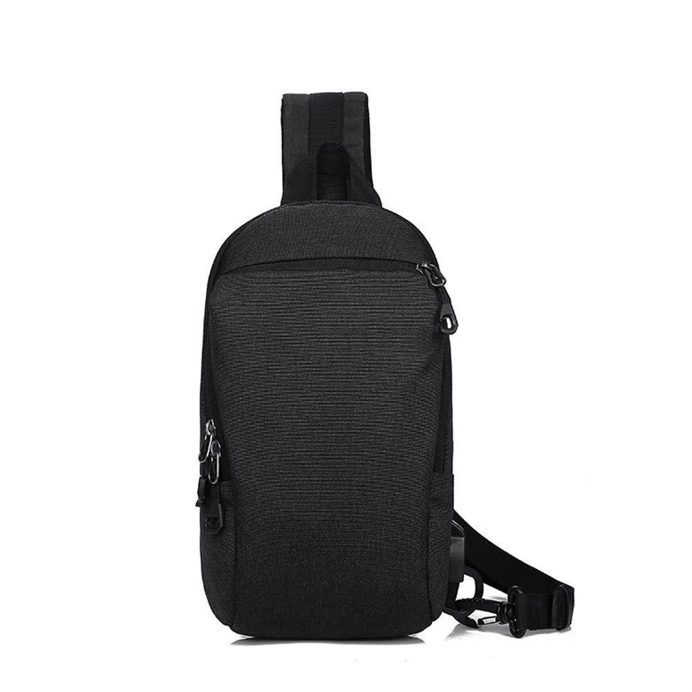 Männer Outdoor Freizeit Brusttasche Multi-Layer-Lagerung Anti-Theft Lade Schulter Crossbody-Tasche