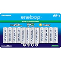 Deals on 16CT Panasonic BK-3MCCA16FA Eneloop AA Cycle Ni-MH Batteries