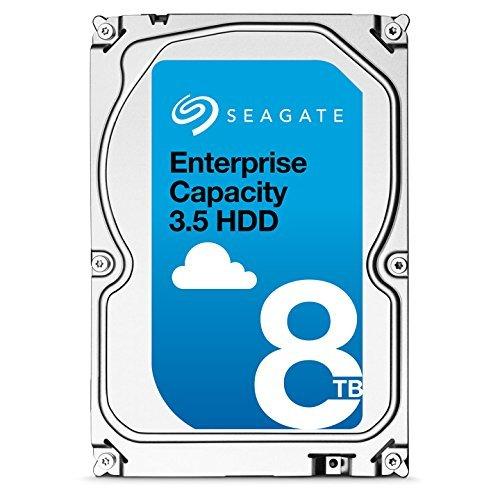 Seagate Enterprise Capacity 3.5 HDD 8TB 7200RPM 12Gb/s SAS 256 MB Cache Internal Bare Drive ST8000NM0075 by Seagate