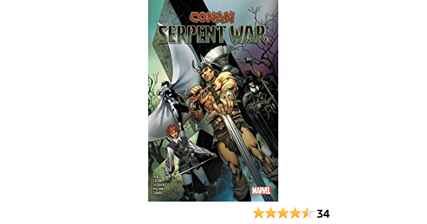 more CONAN SERPENT WAR GRAPHIC NOVEL New Paperback Collects 4 Part Series