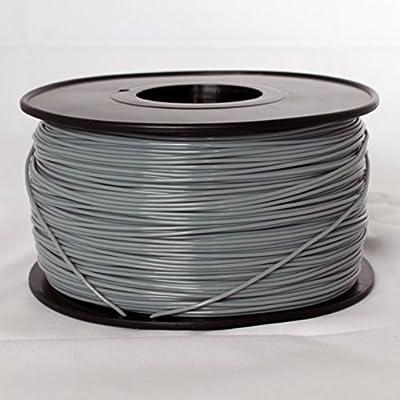 iEagle Gray 3.0mm ABS Filament - 2.0lb. Spool for 3D Printers
