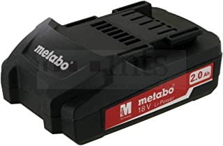 Originale Metabo Werkzeugakku - 18V 2Ah per SSD 18 Lt - Air Cooled