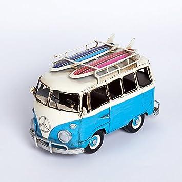 Lieblich GDA/Surfer Auf Kreative Retro VW Bus Stil Dekoration Wohnzimmer Erkerfenster  Dekoration Blau