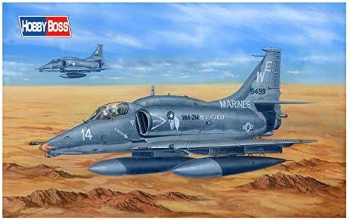 ホビーボス 1/48 エアクラフトシリーズ アメリカ軍 A-4M スカイホーク プラモデル 81766