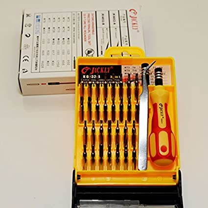33 en 1 destornillador Set Kit de reparación de PC Impresora Disco ...