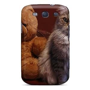 diy phone caseDana Lindsey Mendez Premium Protective Hard Case For Galaxy S3- Nice Design - Teddy Catdiy phone case