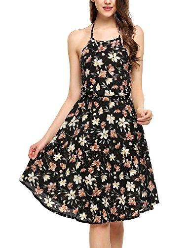 zeagoo-women-summer-halter-neck-backless-chiffon-floral-print-casual-beach-dress