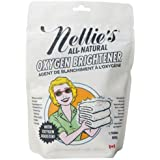 Nellie's All-Natural Oxygen Brightener Powder Pouch, 50 Scoops- Removes Tough Stains, Dirt and Grime