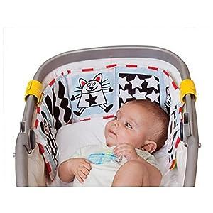 Cute Baby Gallery Infant Kid Crib Pram Gallery Development Puzzle Animal Cloth Book Toy