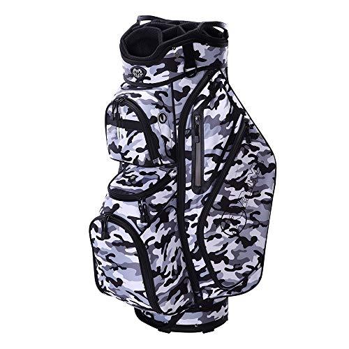 - RAM Golf Tour Cart Bag with 14 Full Length Dividers -Camo