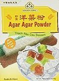 1 x 6oz Golden Coins Agar Agar Powder, Oriental Dessert, Product of USA