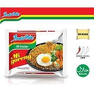 Indomie Mi Goreng Instant Stir Fry Noodles, Halal Certified, Original Flavor (Pack of 30)  (Packaging may Vary)