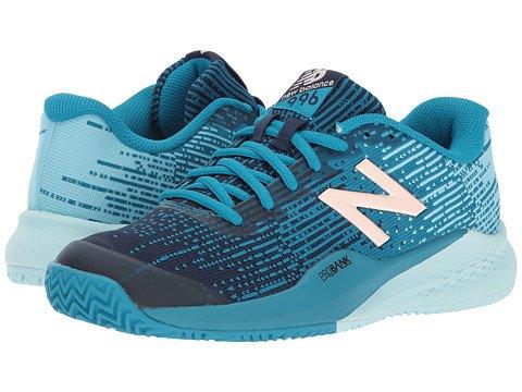 (ニューバランス) New Balance レディーステニスシューズスニーカー靴 WCY996v3 Deep Ozone Blue/Ozone Blue 10 27cm B - Medium [並行輸入品] B076GLCB87