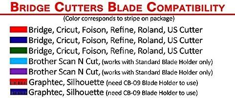 Brother Scan N corte cuchillas de corte de repuesto, 3 cuchillas ...