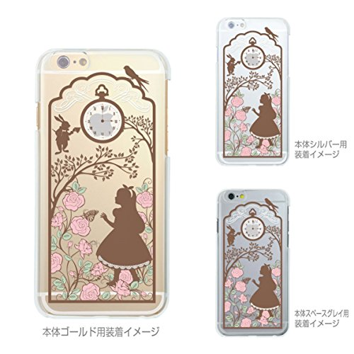 iPhone JAPAN Clear Alice Wonderland product image