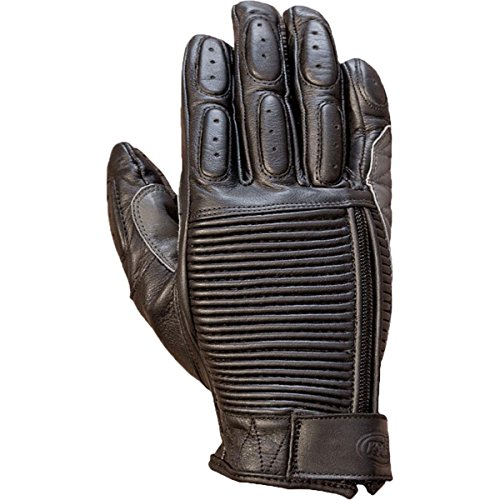 Roland Sands Design Dezel Leather Men's MotoX Motorcycle Gloves - Black / (Motorcycle Roland Sands Design)