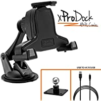 iBOLT xProDock AMPS Combo w/ 2 mounting options: Metal AMPs drill base mount/Suction cup mount and 2m charging cable. Samsung Galaxy S7, Note 5