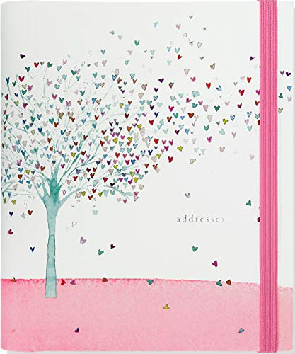 (Tree of Hearts Large Address Book)