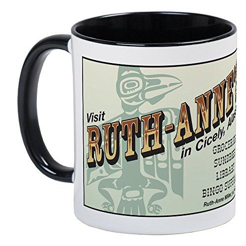 (CafePress Ruth-Anne's Of Cicely, Alaska Mug Unique Coffee Mug, Coffee Cup)