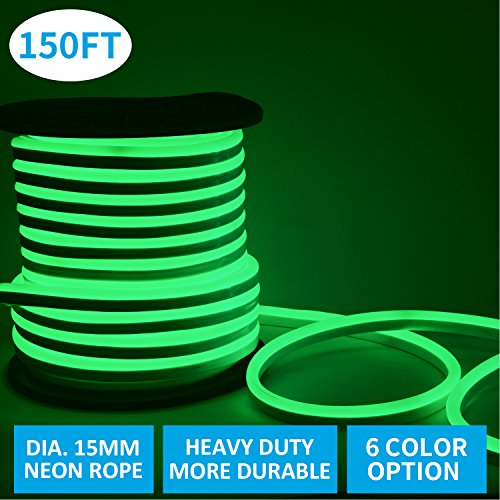 Neon Green Led Rope Lights - 9