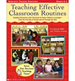 img - for Teaching Effective Classroom Routines: Establish Structure in the Classroom to Foster Children's Learning--From the First Day of School and All Through the Year (Paperback) - Common book / textbook / text book