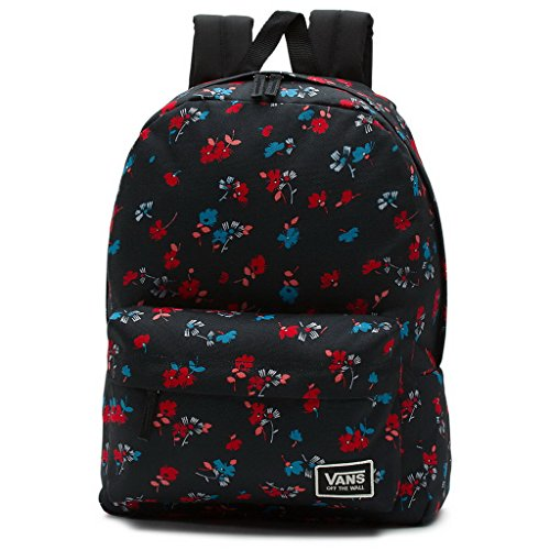 Vans womens WM REALM CLASSIC BACKPACK VN-A34G7KVP - BLACK 70S FLORAL