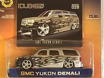 Buy Jada Toys - Dub City, GMC Yukon Denali Silver/Black/Grey - 1:64 ...