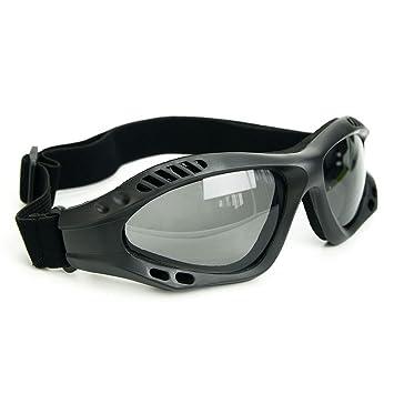 binboll ajustable al aire libre de protección UV gafas motocicleta Gafas a prueba de polvo Gafas ...